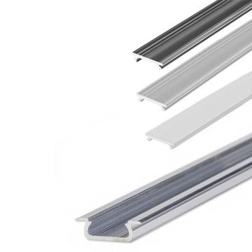 Алюминиевый профиль для LED врезные Из 2m + абажур доставка товаров из Польши и Allegro на русском