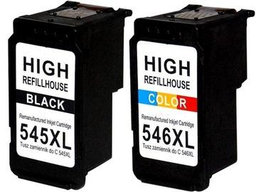 ЧЕРНИЛА для Canon PG-545 +546 iP2850 MG2450 2455 2550 доставка товаров из Польши и Allegro на русском