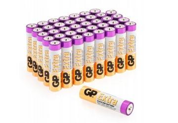 40х щелочная батарейка GP EXTRA R3 AAA LR3 1,5 V доставка товаров из Польши и Allegro на русском