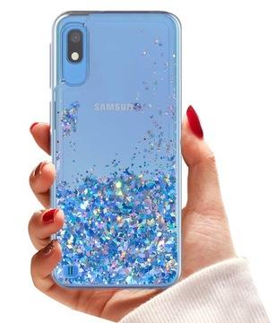 (Чехол CASE БЛЕСК + СТЕКЛО 9H для Samsung Galaxy A10) доставка товаров из Польши и Allegro на русском