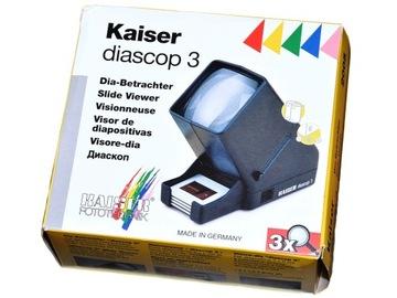 Kaiser Браузер слайд-шоу киноленты Diascop 3 доставка товаров из Польши и Allegro на русском