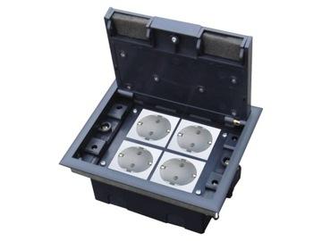 Напольная коробка 4М Floorbox доставка товаров из Польши и Allegro на русском