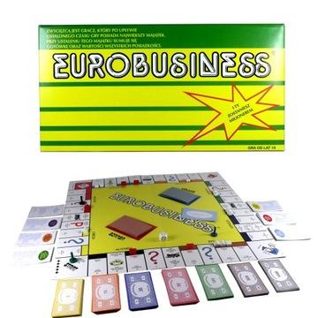 GRA PLANSZOWA EUROBUSINESS EUROBIZNES EUROBISNES доставка товаров из Польши и Allegro на русском
