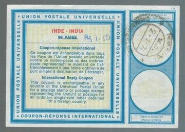 Индия 1971 IRC Международный купон ответа доставка товаров из Польши и Allegro на русском