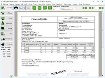 Программа для выставления счетов/счетов-фактур jpk ндс доставка товаров из Польши и Allegro на русском