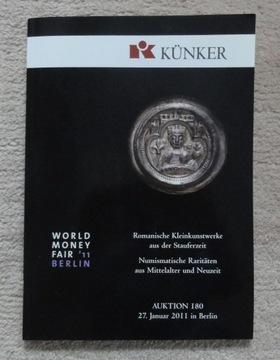 Каталог аукциона № 180 фирмы Künker доставка товаров из Польши и Allegro на русском
