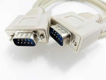 кабель d-sub 9pin rs232 DB9 разъем / штекер 3,0 м доставка товаров из Польши и Allegro на русском