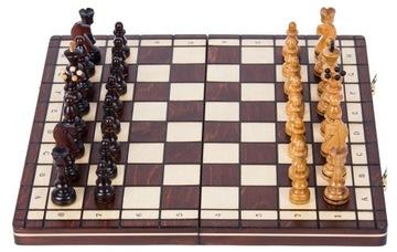 SQUARE - Шахматы деревянные СЕНАТОРСКИЕ - 40 x 40 см доставка товаров из Польши и Allegro на русском