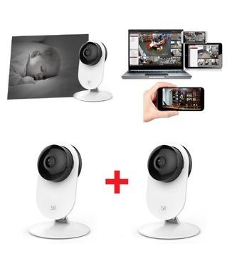 2x Камера 1080p Няня Определение Плача wi-fi Tel. доставка товаров из Польши и Allegro на русском