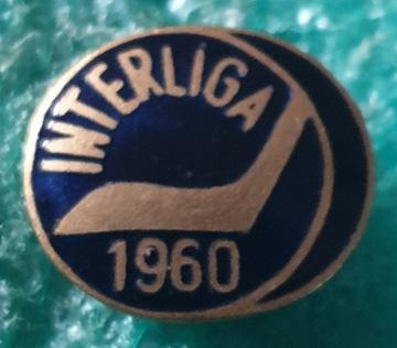 ЗНАК INTERLIGA ХОККЕЙ НА ЛЬДУ 1960 ЦЕГЕЛЬСКИЙ доставка товаров из Польши и Allegro на русском