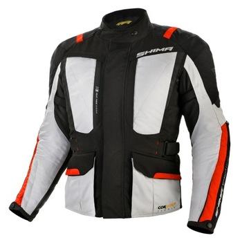 SHIMA HERO GREY RED Куртка специальная одежда для мотоциклистов + ХАЛЯВА доставка товаров из Польши и Allegro на русском