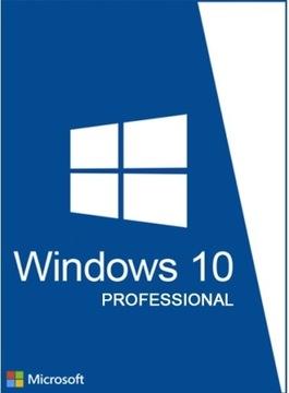 WINDOWS 10 PROFESSIONAL PRO 32 bit 64 bit PL КЛЮЧ доставка товаров из Польши и Allegro на русском