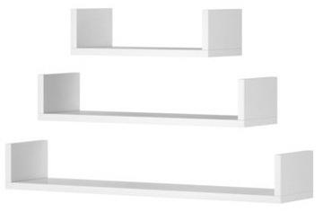 Полка, белый навесной шкаф, набор 3 шт. +БЕСПЛАТНО доставка товаров из Польши и Allegro на русском