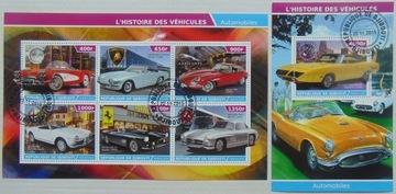 Автомобили zabytk.2 Djibouti arkusik+блок #16180a-b доставка товаров из Польши и Allegro на русском