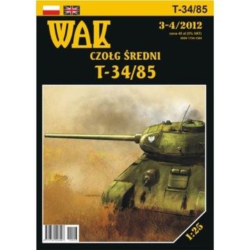 ОАК 3-4/12 средний Танк Т-34/85 1:25 доставка товаров из Польши и Allegro на русском