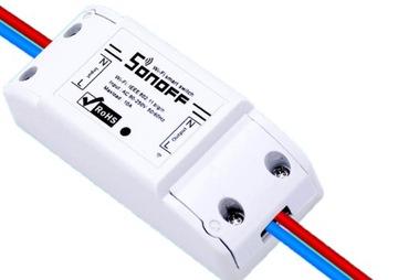 SONOFF BASIC WiFi 230V włącznik wyłącznik IOS