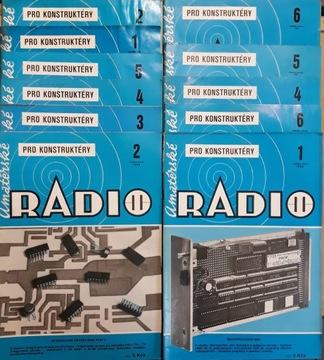 Любительское РАДИО для конструкторов 1982 г. 11szt доставка товаров из Польши и Allegro на русском