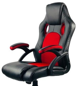 Кресло поворотный игровой бренд Лугано PRO офисный доставка товаров из Польши и Allegro на русском