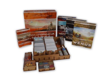 Insert Terraformacja Марс + все дополнения доставка товаров из Польши и Allegro на русском
