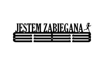 Я ZABIEGANA #2 |Вешалка на медали 60 см БОЛЬШОЙ доставка товаров из Польши и Allegro на русском