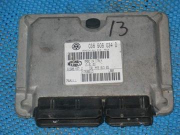 КОМПЬЮТЕР VW SEAT SKODA 1.4 036906034D IMMO OFF!! доставка товаров из Польши и Allegro на русском