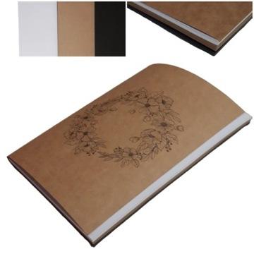 Альбом для рисования блок КРЕАТИВНЫЙ рисунок 3 цвета КАРТОЧЕК доставка товаров из Польши и Allegro на русском
