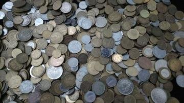 Франция - набор монет весом 0,250 кг доставка товаров из Польши и Allegro на русском