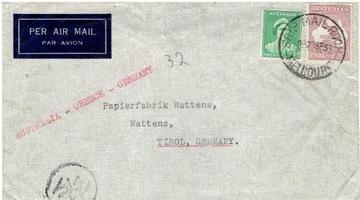 Australia - Poczta Morska list do Niemiec - 1938 r доставка товаров из Польши и Allegro на русском