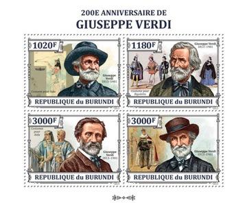 G. Verdi композитор музыка Бурунди ark #BUR13316a доставка товаров из Польши и Allegro на русском