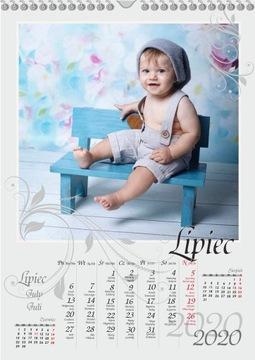 Календарь с Вашими Фотографиями формата A3 и на Подарок СУПЕР!!! доставка товаров из Польши и Allegro на русском