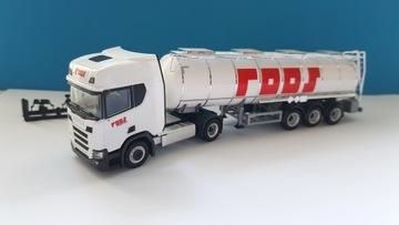 Herpa 940269 Scania CR 20 HD цистерна Roos Польша доставка товаров из Польши и Allegro на русском