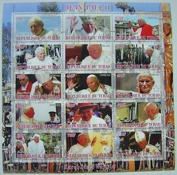 Папа римский ИОАНН ПАВЕЛ II 2012 arkusik чистый [**] #176 доставка товаров из Польши и Allegro на русском