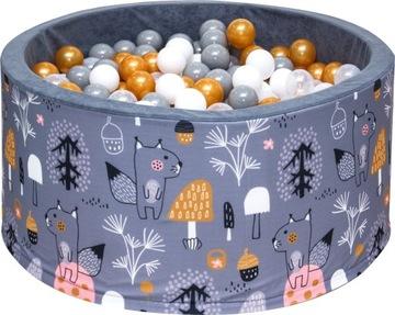 Сухой Бассейн с мячиками 90x40 мячами 200 шариками доставка товаров из Польши и Allegro на русском