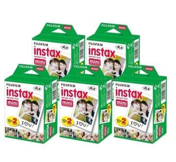 Картриджи FujiFilm Instax Mini 8 / 9 КОМПЛЕКТ 100 фотографий доставка товаров из Польши и Allegro на русском