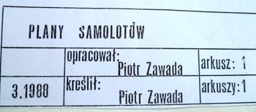 ПЛАНЫ САМОЛЕТОВ Р. ЗАВАДА доставка товаров из Польши и Allegro на русском