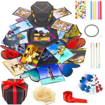 АЛЬБОМ CARD 3D - Коробка box DIY, сувенир, открытка доставка товаров из Польши и Allegro на русском