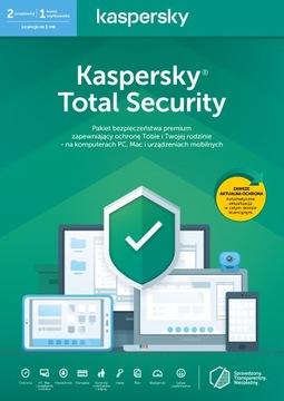 Kaspersky Total Security 2019 1. устр-во. 1 год PL доставка товаров из Польши и Allegro на русском