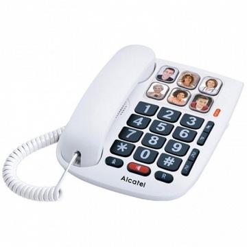 Стационарный телефон для Пожилых людей Alcatel TMAX доставка товаров из Польши и Allegro на русском