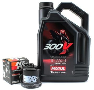 Масло MOTUL 300V 10W40 4L + масляный фильтр KN доставка товаров из Польши и Allegro на русском