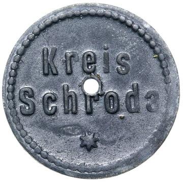 + Schroda Среда). 5 Pfennig 1917 - С ОТВЕРСТИЕМ ! доставка товаров из Польши и Allegro на русском