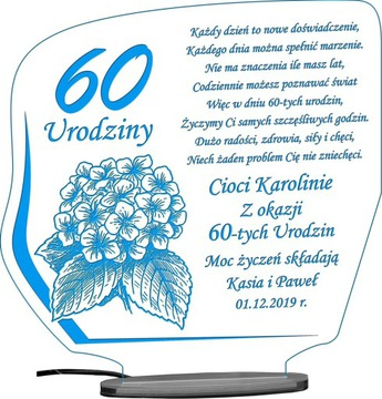 18 50 60 70 80 90 URODZINY STATUETKA PREZENT LED доставка товаров из Польши и Allegro на русском