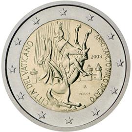 ВАТИКАН 2 € 2008 доставка товаров из Польши и Allegro на русском