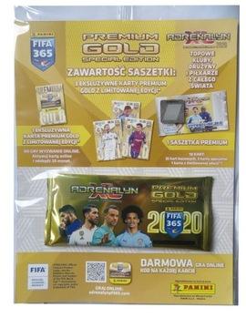 FIFA 365 2020 ПАКЕТИК PREMIUM GOLD 4 LIMITED доставка товаров из Польши и Allegro на русском