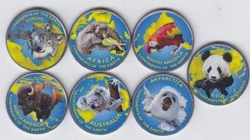 КАШМИР * КАШМИР * набор из 7 монет цвета  доставка товаров из Польши и Allegro на русском
