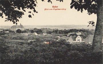 ГУБЕНЕ / ГУБИН. BLICK VOM ENGELMANNSBERG. 1915 доставка товаров из Польши и Allegro на русском