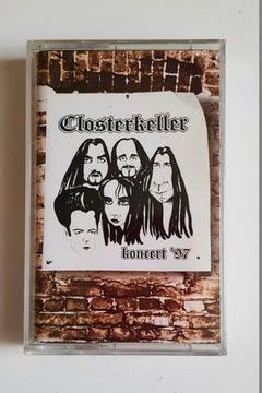 CLOSTERKELLER КОНЦЕРТ '97 аудио кассета доставка товаров из Польши и Allegro на русском