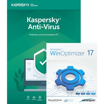 Ashampoo WinOptimizer17 + Anti-Virus, 1 ПК/1 год доставка товаров из Польши и Allegro на русском