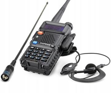 Baofeng UV-5R HT Радиостанция PMR + NAGOYA NA-771 доставка товаров из Польши и Allegro на русском