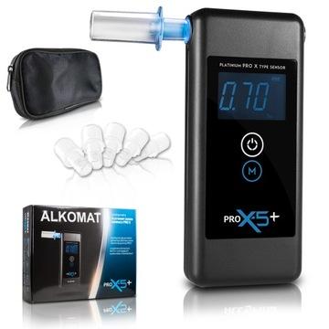Алкотестер PRO X-5 Плюс + Бесплатно анализ +мундштуки доставка товаров из Польши и Allegro на русском