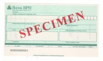 чек печатается Банк Промышленно Коммерческий BPH2 доставка товаров из Польши и Allegro на русском